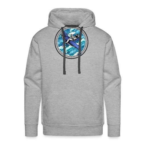 Astronaut Whale - Men's Premium Hoodie