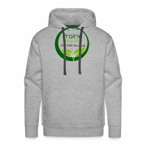 Prairie Recycling Official Logo - Men's Premium Hoodie
