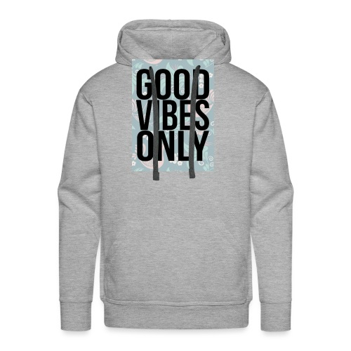 good vibes only birds - Men's Premium Hoodie