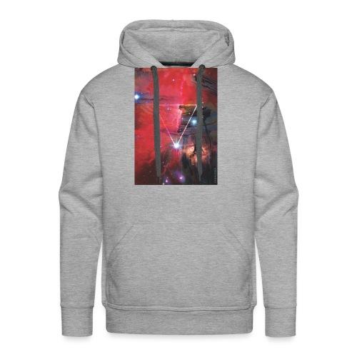 NewTshirt 1 RedSky jpg - Men's Premium Hoodie