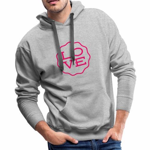love design - Men's Premium Hoodie