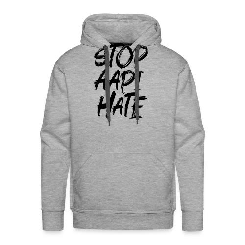 Stop Asian Hate Racist - Men's Premium Hoodie