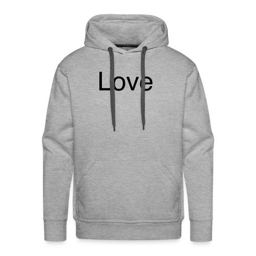 Love - Men's Premium Hoodie