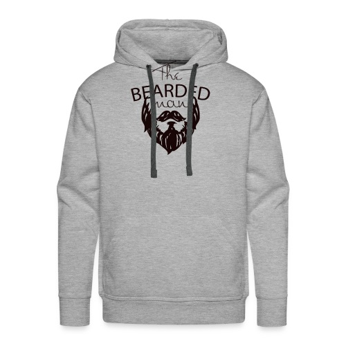 The bearded man - Men's Premium Hoodie