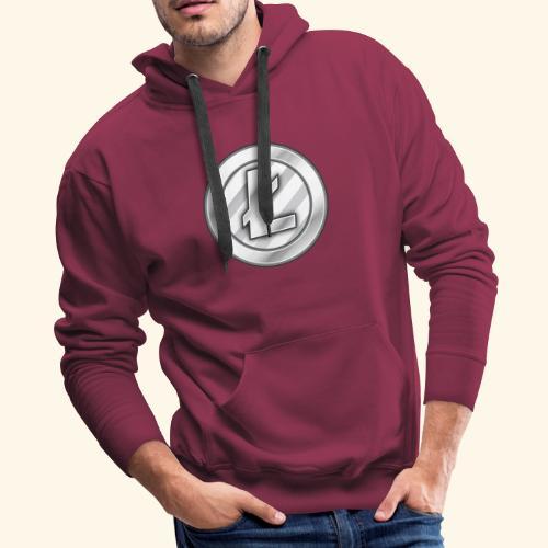 Litecoin Tee Shirt - Men's Premium Hoodie