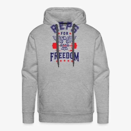 Reps For Freedom - Men's Premium Hoodie