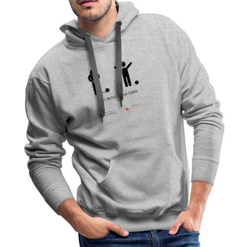 Life's better without cables: Prisoners - SELF - Men's Premium Hoodie