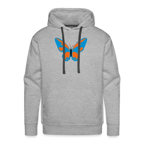 Butterfly with Love - Men's Premium Hoodie