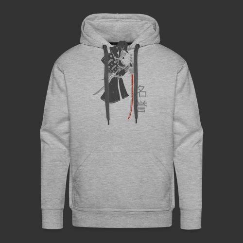 Samurai (Digital Print) - Men's Premium Hoodie