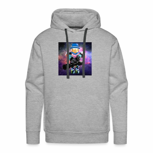 sean roblox character with minigun - Men's Premium Hoodie