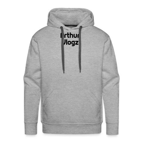 Answer Text Arthur Vlogz Colored Apperal - Men's Premium Hoodie