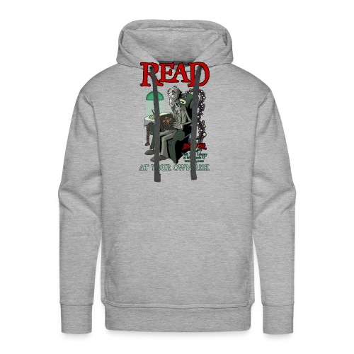 Read At Your Own Risk - Miskatonic U - Men's Premium Hoodie