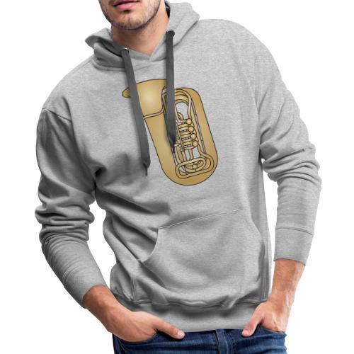 Tuba brass - Men's Premium Hoodie