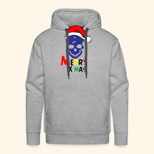 Merry Xmas Skul - Men's Premium Hoodie