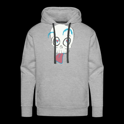 Pull out the tongue skull - Men's Premium Hoodie
