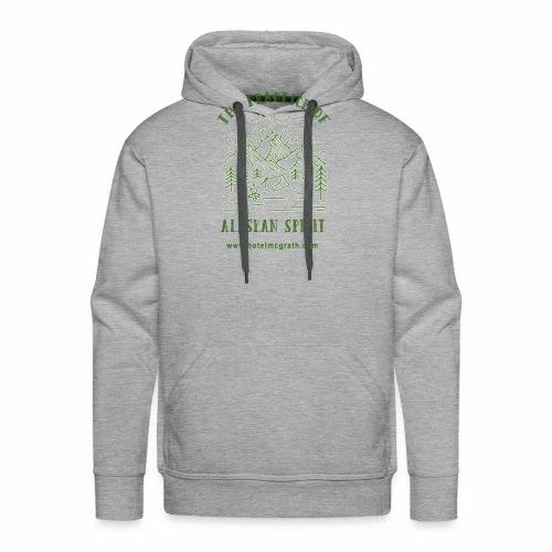 Alaskan Spirit green - Men's Premium Hoodie