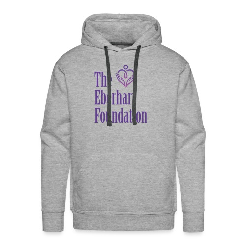 The Eberhart Foundation square logo color - Men's Premium Hoodie