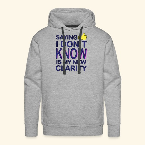 new clarity - Men's Premium Hoodie