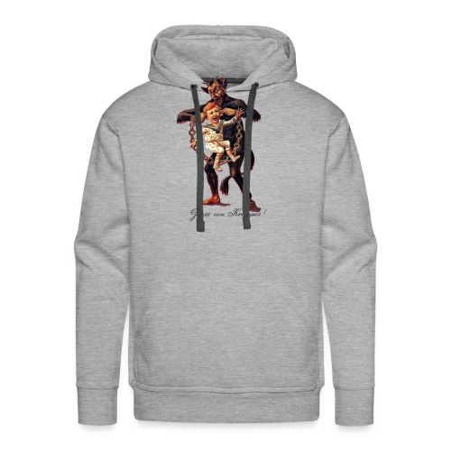 Gruss vom (Greetings From) Krampus - Men's Premium Hoodie