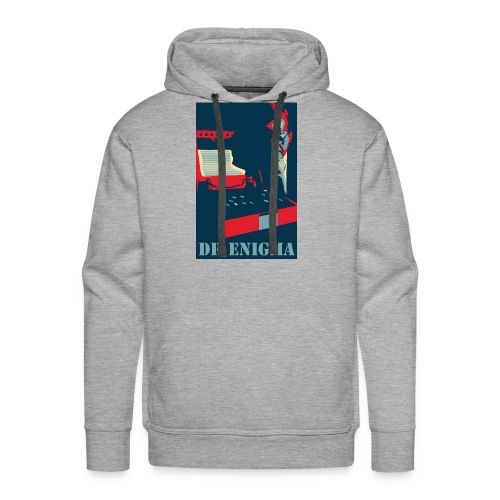 Dr Enigma+Enigma Machine - Men's Premium Hoodie