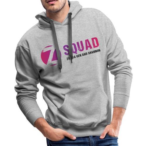 Z SQUAD LogoBLACK - Men's Premium Hoodie