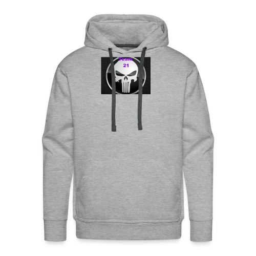 Team 21 white - Men's Premium Hoodie