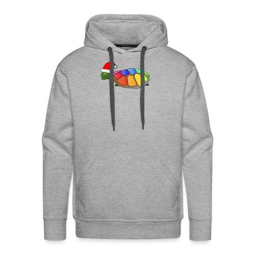 Rainbow Turtle - Men's Premium Hoodie