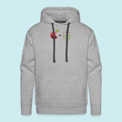 Apple or windows? - Men's Premium Hoodie