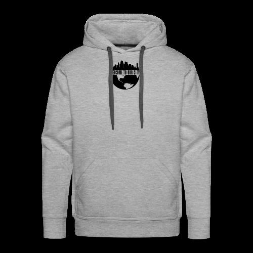 WTOC Logo Black - Men's Premium Hoodie