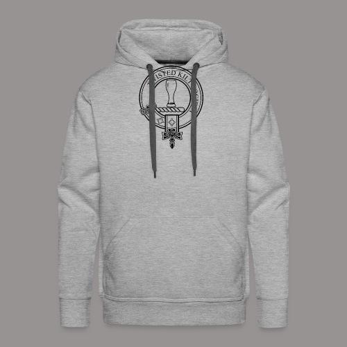 Twisted Kilt Society Crest - Men's Premium Hoodie