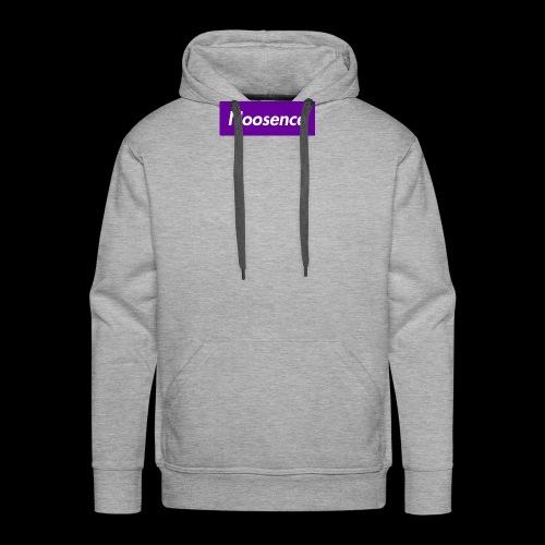 Noosence Logo purple - Men's Premium Hoodie