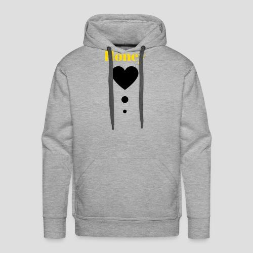 Honey Baby (black and yellow) - Men's Premium Hoodie
