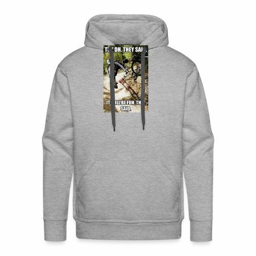 Bike meme on your shirt - Men's Premium Hoodie