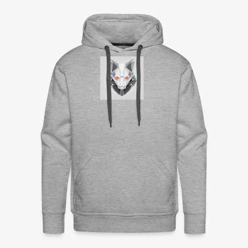 Endless Wolf Logo - Men's Premium Hoodie
