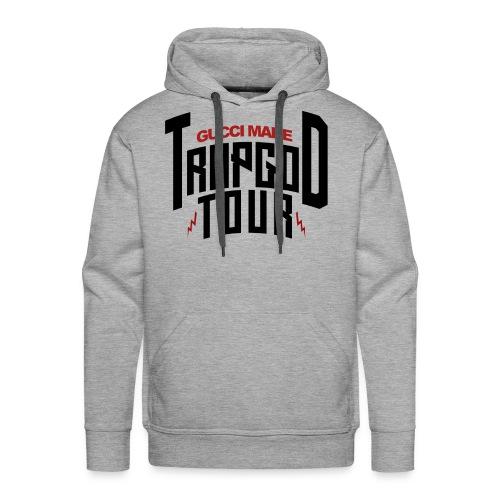 Trapgod tour 2 png - Men's Premium Hoodie