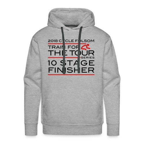 2018 TfT 10 Stage Finisher - Men's Premium Hoodie