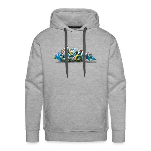 Phame Design for New York Graffiti - 3D Style - Men's Premium Hoodie