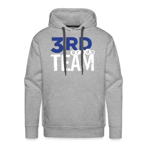 Bold 3rd Grade Team Teacher T-Shirts - Men's Premium Hoodie