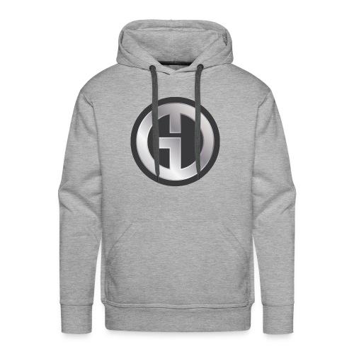 Gristwood Design Logo (No Text) For Dark Fabric - Men's Premium Hoodie