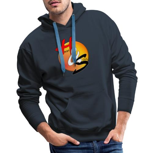 Rcahas logo gold - Men's Premium Hoodie