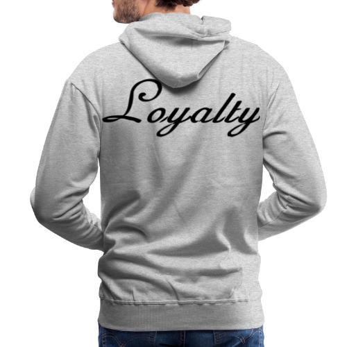 Loyalty Brand Items - Black Color - Men's Premium Hoodie