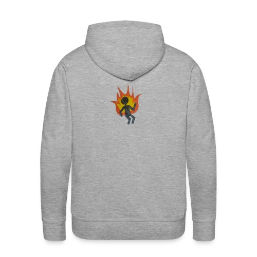 REEF BURNING MAN - Men's Premium Hoodie