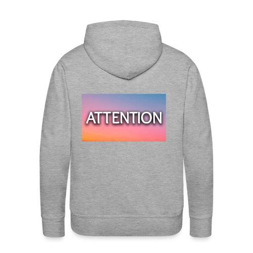 attention - Men's Premium Hoodie