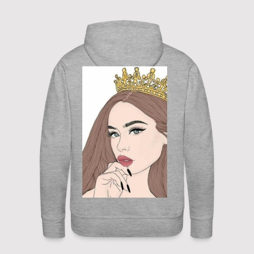the queen - Men's Premium Hoodie