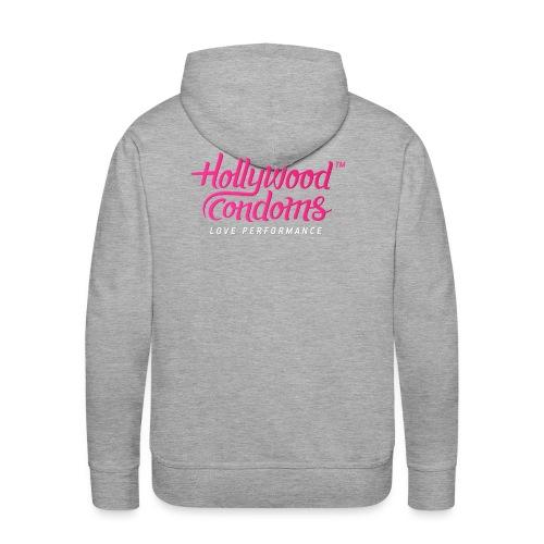 Hollywood Condoms™ - Love Performance - Men's Premium Hoodie