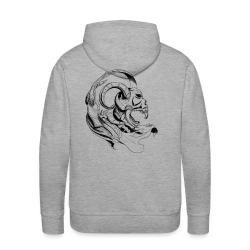 demon skull - Men's Premium Hoodie