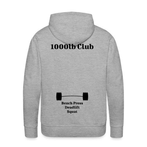 1000lb Club - Men's Premium Hoodie