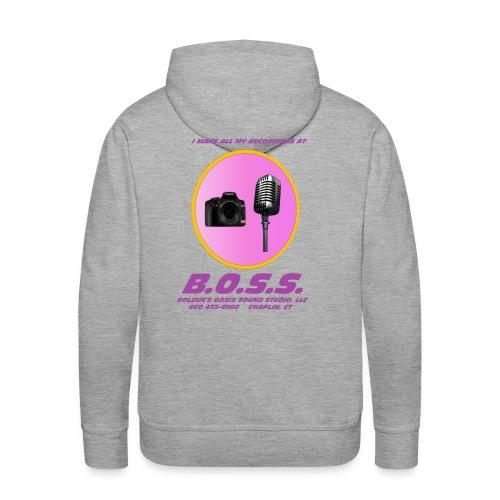 Make All My Recordings at B.O.S.S. - Men's Premium Hoodie