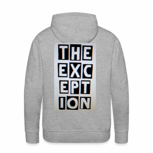 The Exception Campaign - Men's Premium Hoodie