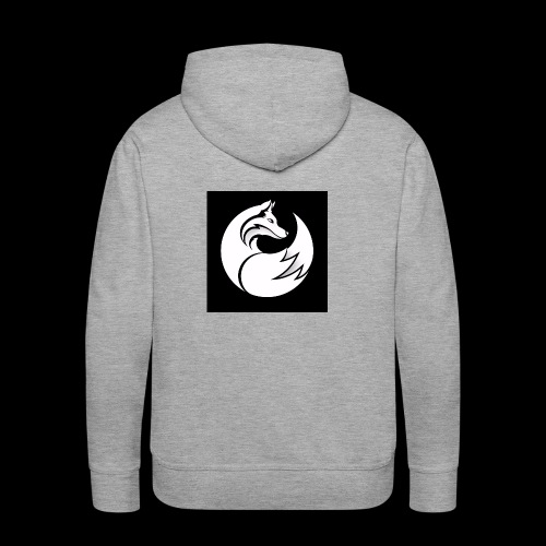 Confident wolf merch - Men's Premium Hoodie